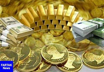 قیمت طلا، قیمت دلار، قیمت سکه و قیمت ارز امروز ۹۷/۱۲/۲۶
