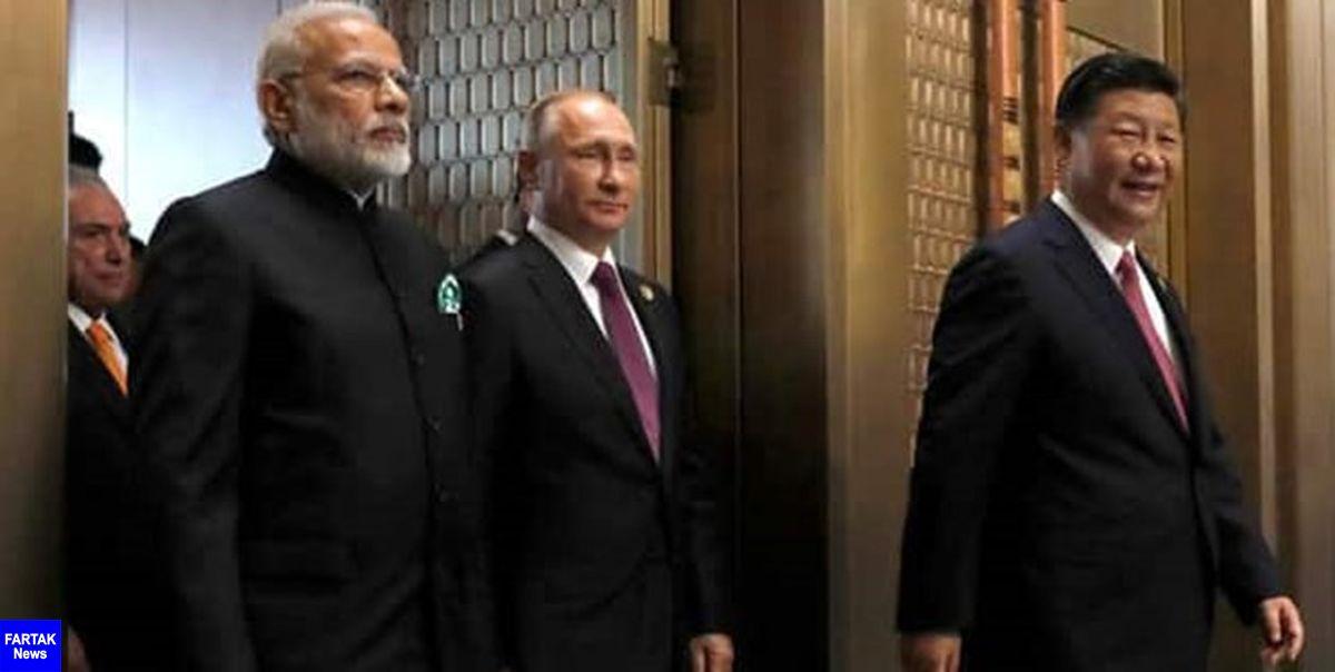 تلاشهای دولت روسیه برای کاهش تنش بین چین و هند