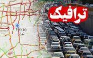آخرین وضعیت ترافیکی جادههای کشور  در روز دوشنبه