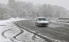 برف در جادههای ۵ استان در سومین روز اردیبهشت