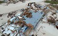 تصاویر هوایی از طوفان دوریان در باهاما