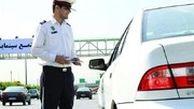 اقدام جالب مامور پلیس برای جلوگیری از ترافیک در پل صدر
