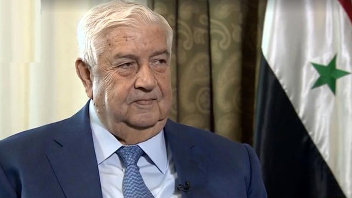 وزیر امور خارجه سوریه درگذشت