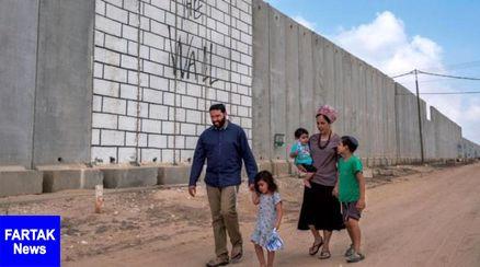 """اسرائیل طولانیترین دیوار """"هوشمند"""" جهان را در اطراف غزه میسازد"""