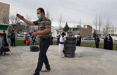 چهارمین جشنواره ملی تئاتر خیابانی شرهانی به روایت تصویر