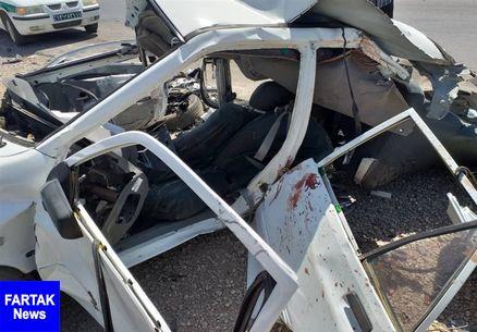 ۴ کشته و ۵ مصدوم در سانحه درون شهری مشهد