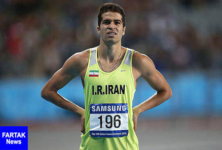 سریعترین مرد ایران به فرانسه رفت
