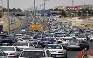 ترافیک سنگین در مسیر تفرجگاههای مشهد