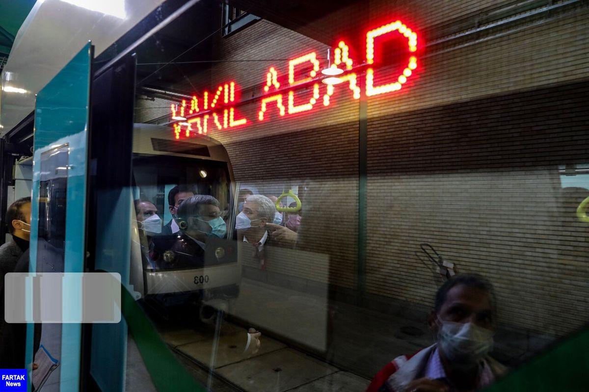 ساعت کار قطار شهری مشهد تغییر کرد