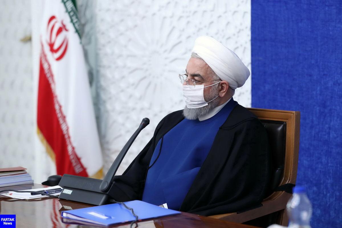 روحانی: اهداف دشمن برای ایجاد قحطی کالاهای ضروری ناکام ماند