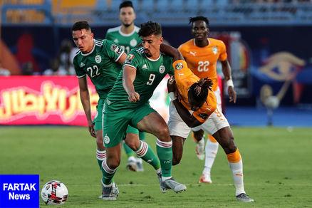 الجزایر راهی نیمه نهایی جام ملت های آفریقا شد