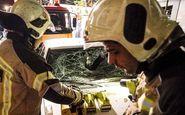 یک کشته و 13 مصدوم در انفجار  مخزن یک کارخانه صنایع غذایی