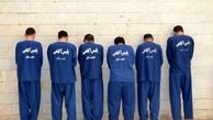 دستگیری سارقان مسلح صرافی خیابان جمهوری
