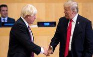 ترامپ: با جانسون درباره توافق جدید با ایران موافقم