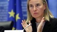 آغاز فرآیند سیاسی، شرط اتحادیه اروپا برای حمایت از سوریه