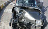 تصادف کامیون با سواری پی کی یک مصدوم بر جای گذاشت