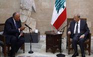 وزیر خارجه مصر: آماده حمایت از ملت لبنان هستیم