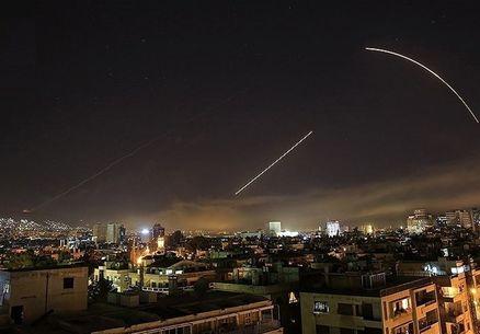 پدافند هوایی ارتش سوریه یک پهپاد اسرائیلی را سرنگون کرد