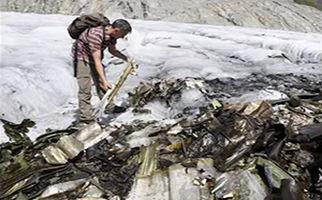 پیدا شدن لاشه هواپیمای آمریکایی پس از ۷۲ سال در کوههای آلپ + فیلم