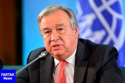 دبیرکل سازمان ملل  به حمله ائتلاف غربی به سوریه واکنش نشان داد