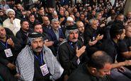 نوحهخوانی مداح عرب در دیدار موکبداران عراقی با رهبر انقلاب