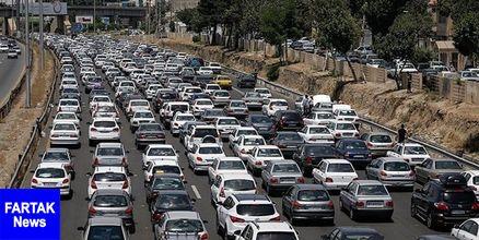 تردد یکطرفه خودروها در محور کندوان