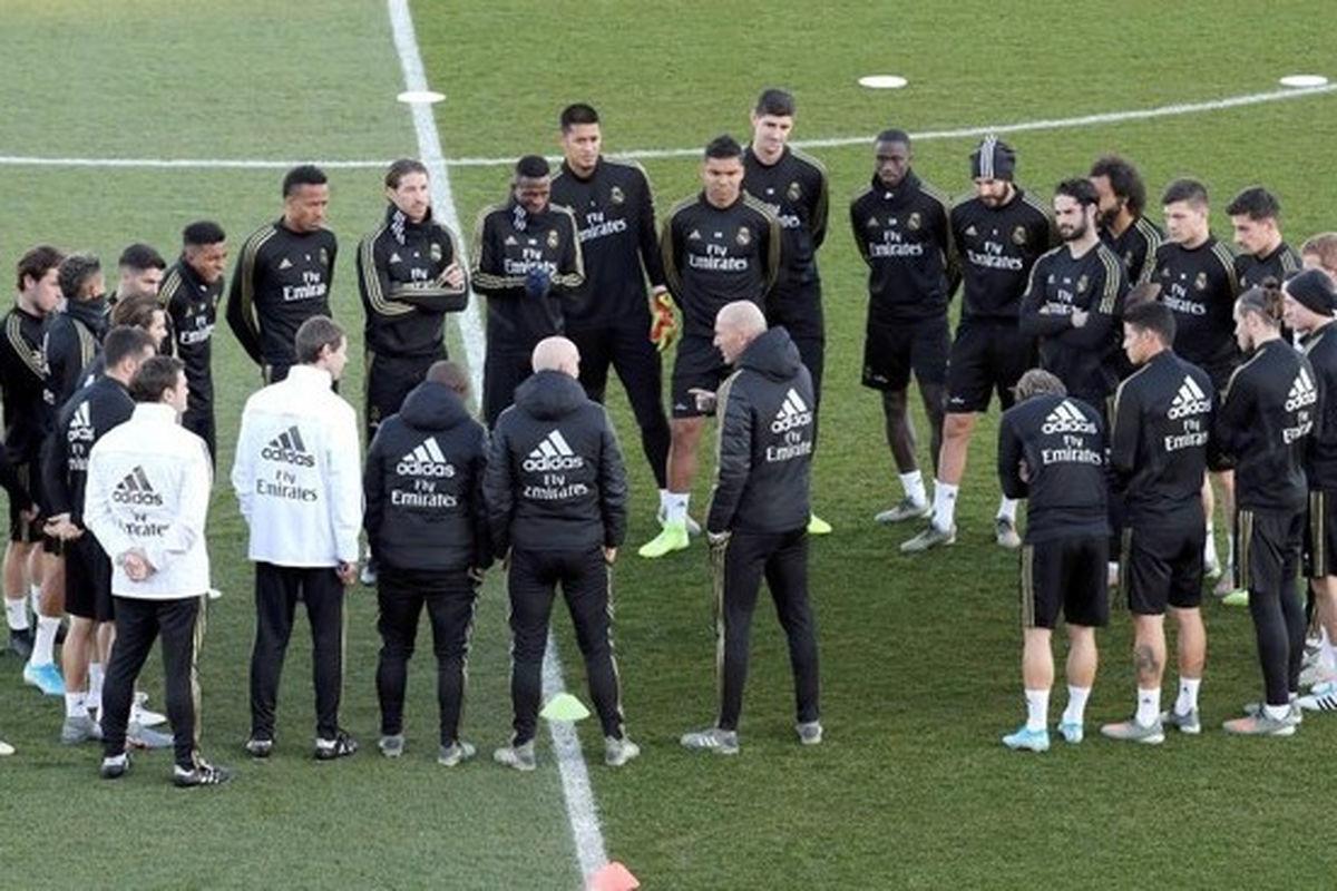 رئال مادرید آماده یک نبرد بزرگ می شود