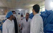 تولید روزانه ۴۰ هزار ماسک سه لایه در شرکت ابزار سازان درمانگر