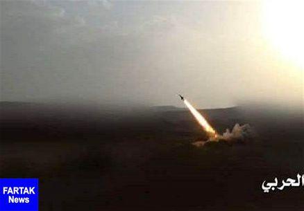 حمله موشکی ارتش یمن به مواضع مزدوران عربستان