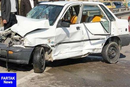 تصادف 2 سواری در جاده مشهد اردهال- کاشان 2 کشته داشت