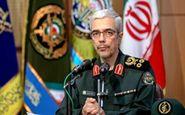 رئیس ستاد کل نیروهای مسلح:  ما تهدیدها را به فرصتی برای سربلندی ملت تبدیل کردهایم