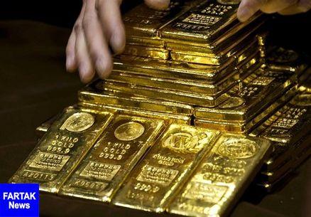 قیمت طلا رو به سراشیبی