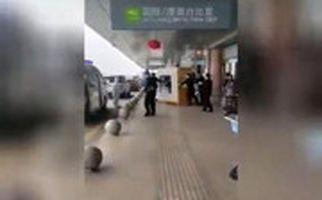 قرنطینه کردن مسافری از ووهان در فرودگاه شانگهای