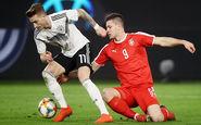 آلمان 1_1 صربستان؛ ژرمن ها همچنان روی نوار ناکامی