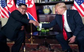 دیدار سران آمریکا و کره شمالی به روایت تصویر