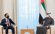 دیدار رئیس مجلس عراق با محمد بن زاید