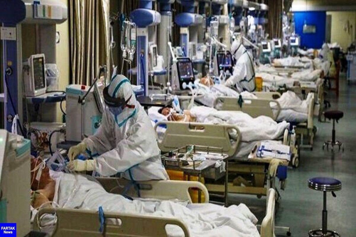 آمار بیماران بستری کرونایی مازندران چهار رقمی شد
