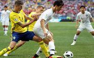 جام جهانی ۲۰۱۸| تساوی؛ حاصل تلاش سوئد و کره در نیمه اول