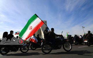 اختصاصی/ گزارش تصویری  متفاوت از  مراسم ۲۲ بهمن میدان آزادی
