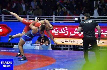 قهرمانی ایران در چهلمین دوره مسابقات بینالمللی کشتی فرنگی جام تختی