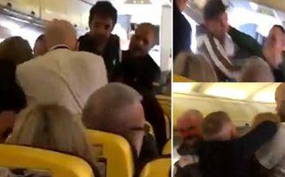 مسافران مست هواپیما را به رینگ بوکس تبدیل کردند!