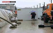 سرپل ذهاب؛ ۱۰۵ روز پس از زلزله ۷.۳ ریشتری، زیر باران، غرق سیل + فیلم