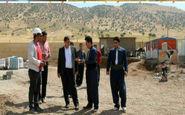 بازدید از شهرستان ثلاث باباجانی در پی وقوع پسلرزههای چند روز اخیر