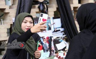 تصاویری دیدنی از مراسم بزرگداشت شهدای مکتب سیدالشهدا کابل