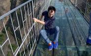 هر کسی جرأت ندارد روی این پل راه برود!