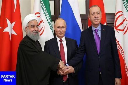 پوتین، روحانی و اردوغان دیدار می کنند