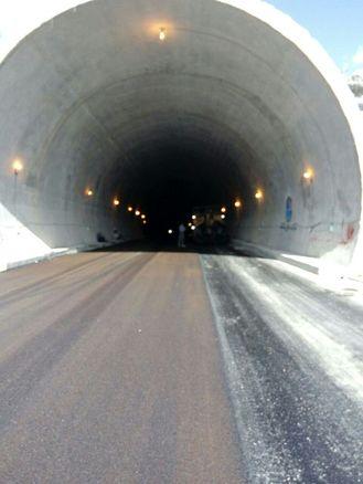 مسدود شدن تونل اربعین قلاجه از امروز تا اطلاع ثانوی