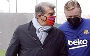ضربالاجل بارسلونا به کومان