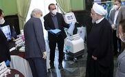 روحانی از محصولات علمی و فناوری کشور در مبارزه با بیماری کرونا بازدید کرد