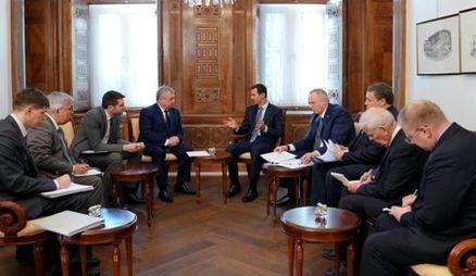 دیدار فرستاده پوتین با رئیس جمهور سوریه/ اسد: توطئه دشمن برای تجزیه سوریه و کل منطقه شکست خورد